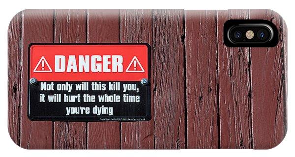 Danger IPhone Case