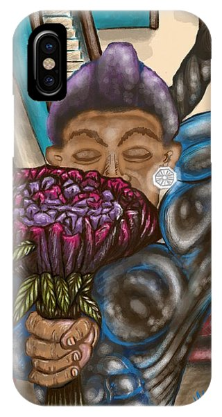 Dangerous Flowers IPhone Case