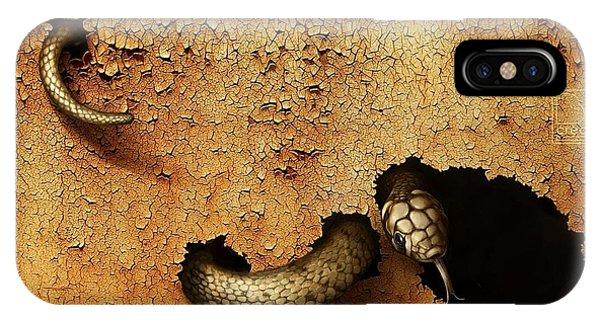 Dangerous Snake IPhone Case