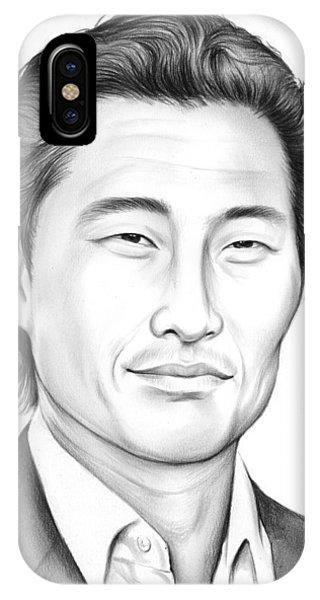 0 iPhone Case - Daniel Dae Kim by Greg Joens
