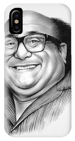 Men iPhone Case - Danny Devito by Greg Joens