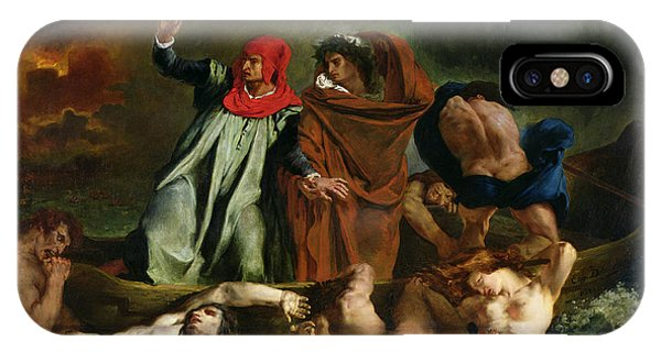 Dante And Virgil In The Underworld IPhone Case
