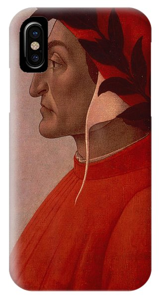 Botticelli iPhone Case - Dante by Sandro Botticelli