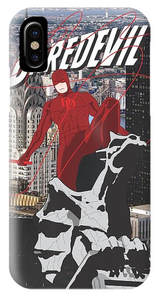Ben Affleck iPhone Case - Daredevil by Troy Arthur Graphics