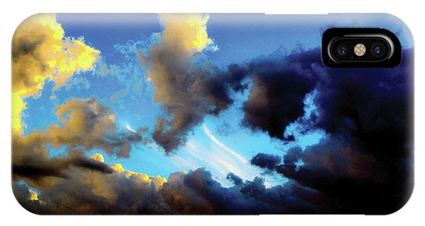 Dark And Dusty Skies  IPhone Case