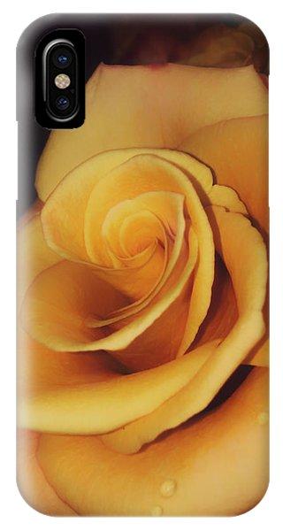 Dark And Golden IPhone Case