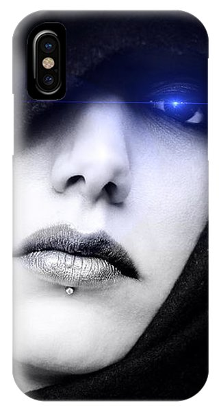 IPhone Case featuring the digital art Dark Angel by ISAW Company