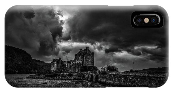 Dark Clouds Bw #h2 IPhone Case