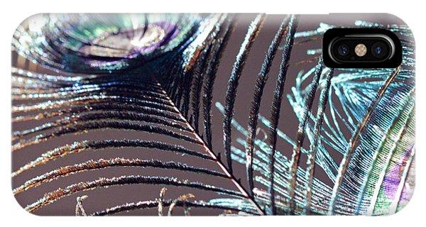Dark Feathers IPhone Case