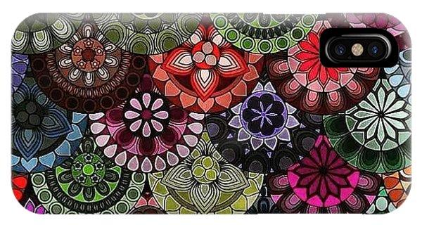 iPhone Case - Dark Flower by Lisa Marie Towne