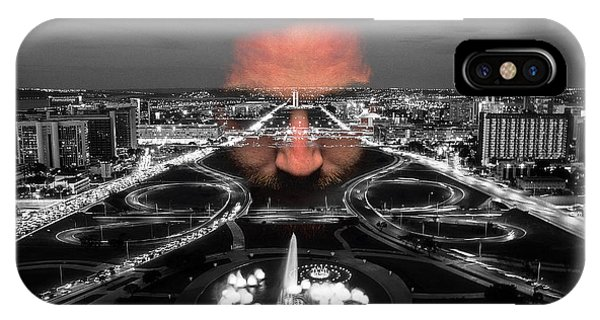 Dark Forces Controlling The City IPhone Case
