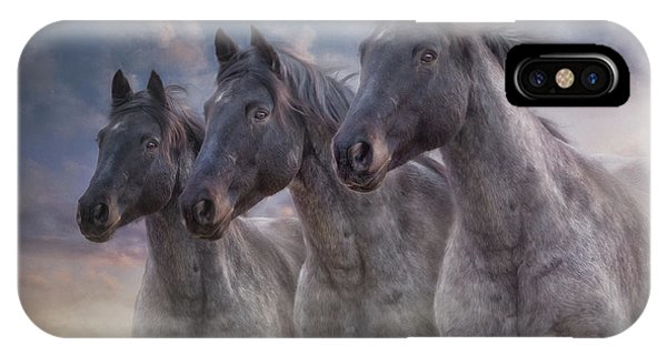 Dark Horses IPhone Case