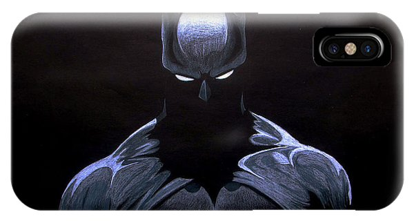 Ben Affleck iPhone Case - Dark Knight by Marcus Quinn