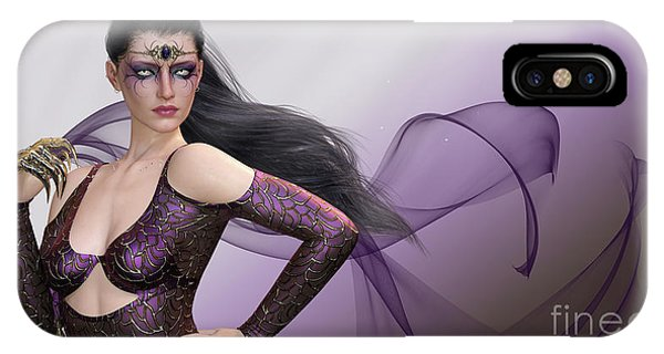 Dark Lady IPhone Case
