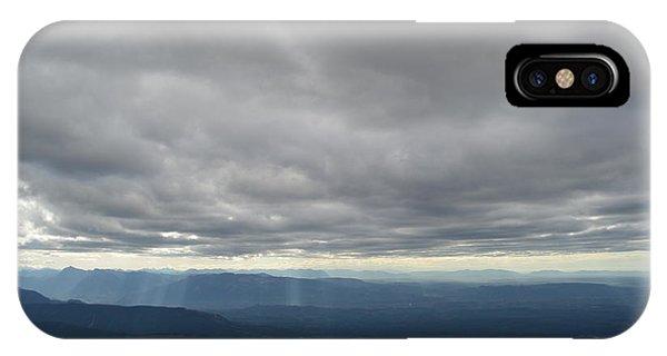 Dark Mountains IPhone Case