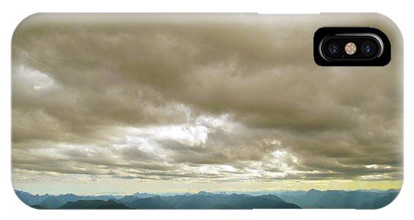Dark Mountains Too IPhone Case