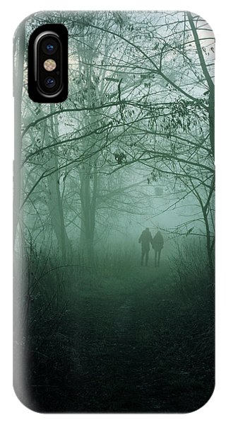 Gloomy iPhone Case - Dark Paths by Cambion Art