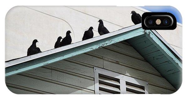 Dark Pigeons IPhone Case