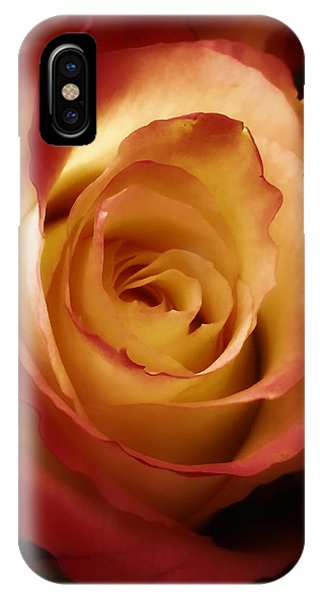 Dark Rose IPhone Case