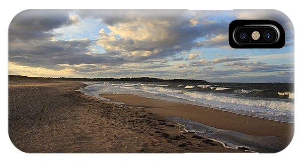 Dark Skies And Sea - Nova Scotia Seascape IPhone Case