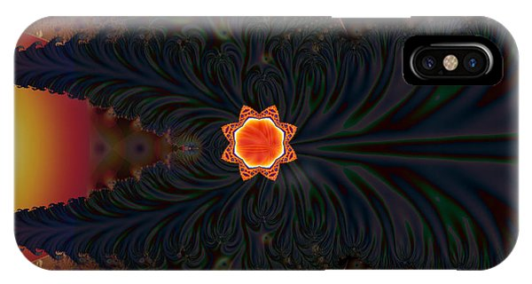 Dark Space Fractal  IPhone Case