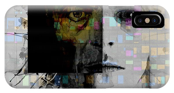 Digital iPhone Case - Dark Star by Paul Lovering