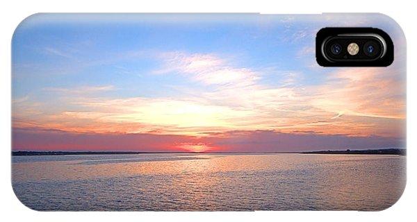 Dark Sunrise I I IPhone Case
