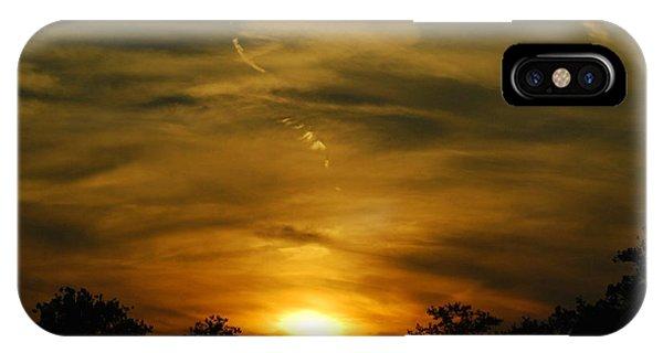 Dark Sunset IPhone Case
