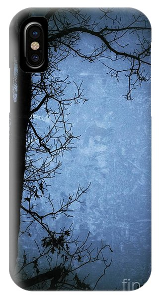 Dark Tree Silhouette  IPhone Case