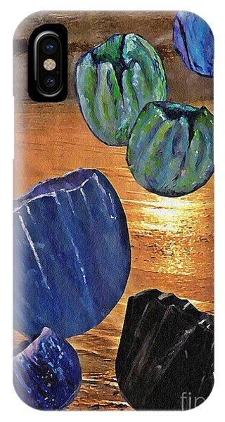Dark Tulip Sunset IPhone Case