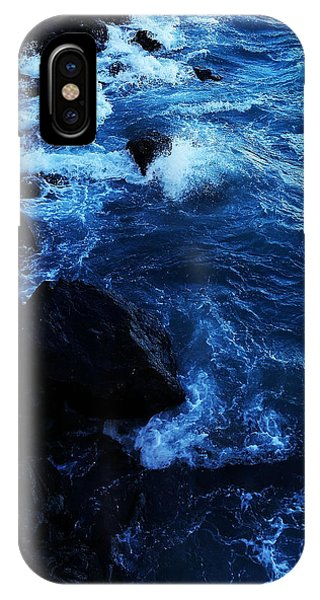 IPhone Case featuring the digital art Dark Water by Julian Perry