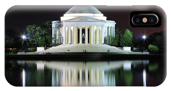 Darkness Over The Jefferson Memorial IPhone Case