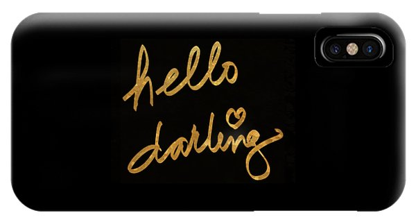 Darling Bella I IPhone Case
