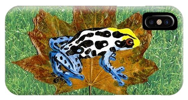 Dart Poison Frog IPhone Case