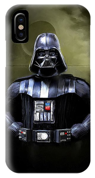 Movie iPhone Case - Darth Vader Star Wars  by Michael Greenaway