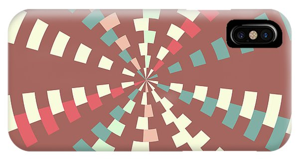 Fall Colors iPhone Case - Dashed Vortex by Gaspar Avila