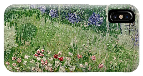 Yard iPhone Case - Daubigny's Garden by Vincent Van Gogh