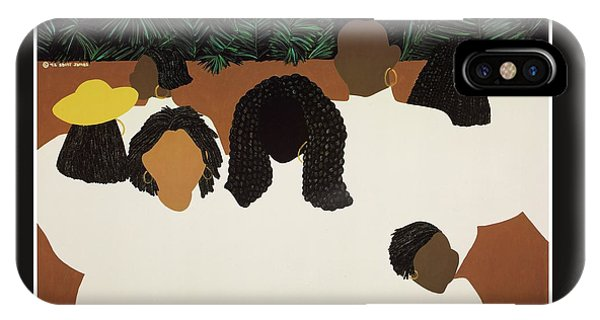 iPhone Case - Daughters by Synthia SAINT JAMES