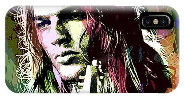 Guitar Legends iPhone Case - Dave Gilmour Dark Side by David Lloyd Glover