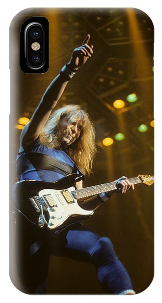 Dave Murray Of Iron Maiden IPhone Case