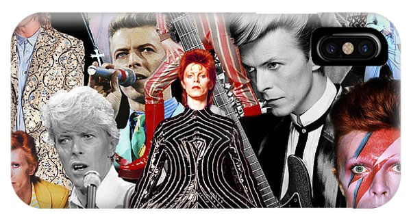 David Bowie 6 IPhone Case