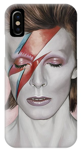 David Bowie Artwork 1 IPhone Case