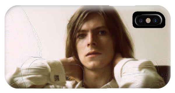 iPhone Case - David Bowie by Eloisa Mannion
