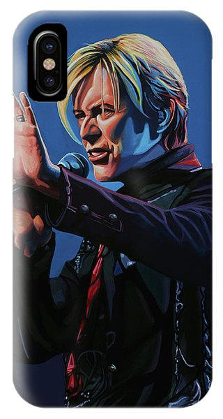David Bowie Live Painting IPhone Case