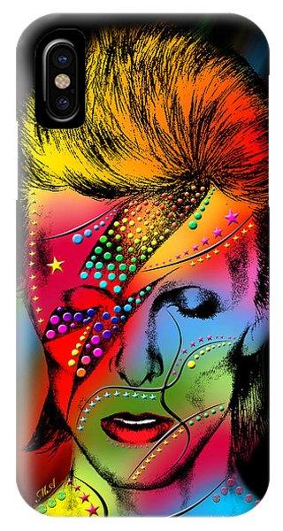 Gay Men iPhone Case - David Bowie by Mark Ashkenazi