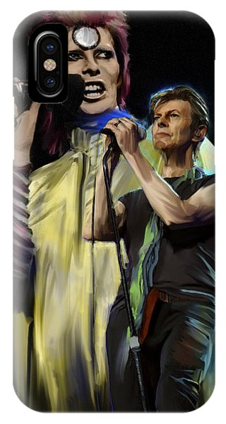 David Bowie  Performance  IPhone Case