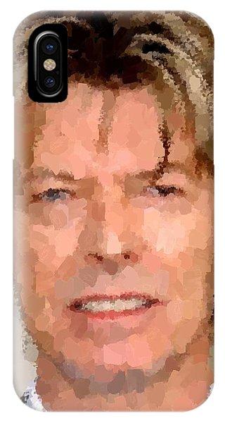 David Bowie Portrait IPhone Case