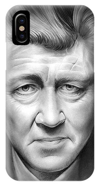 Visual iPhone Case - David Lynch by Greg Joens