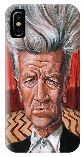 David Lynch IPhone Case