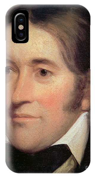 The Alamo iPhone Case - Davy Crockett  by John Neagle